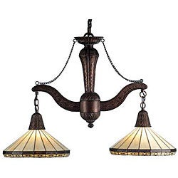 Crestwood 38-inch 2-light Island/ Billiard Chandelier
