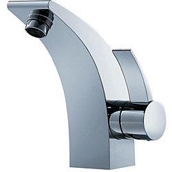 Fluid Sublime Single Handle Chrome Bathroom Faucet