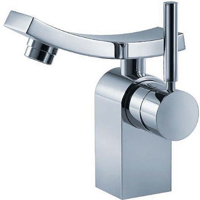 Fluid Emperor Single-handle Chrome Bathroom Faucet