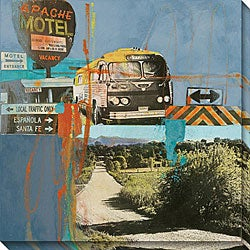 Maureen Brouillette 'Bus to Amarillo I' Giclee Print