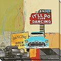 Maureen Brouillette 'It'll Do Dancing I' Canvas Art