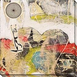 Judy Paul 'Run' Gallery-wrapped Canvas Art