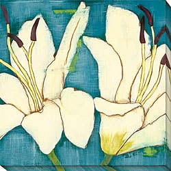 Laura Gunn 'Lily Suite II' Canvas Art