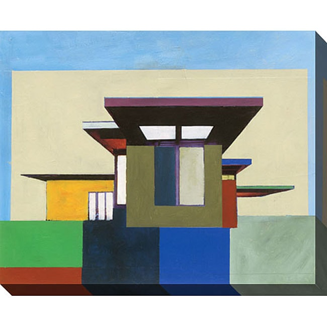 Gallery Direct M. Drake 'Forms in Modern Architecture I' Giclee Canvas Art