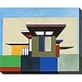 M. Drake 'Forms in Modern Architecture I' Giclee Canvas Art