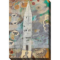 Judy Paul 'Big House' Gallery-wrapped Canvas Art