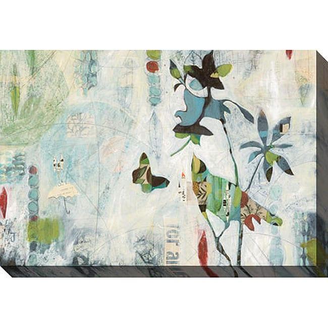 Judy Paul 'Meander I' Giclee Canvas Art