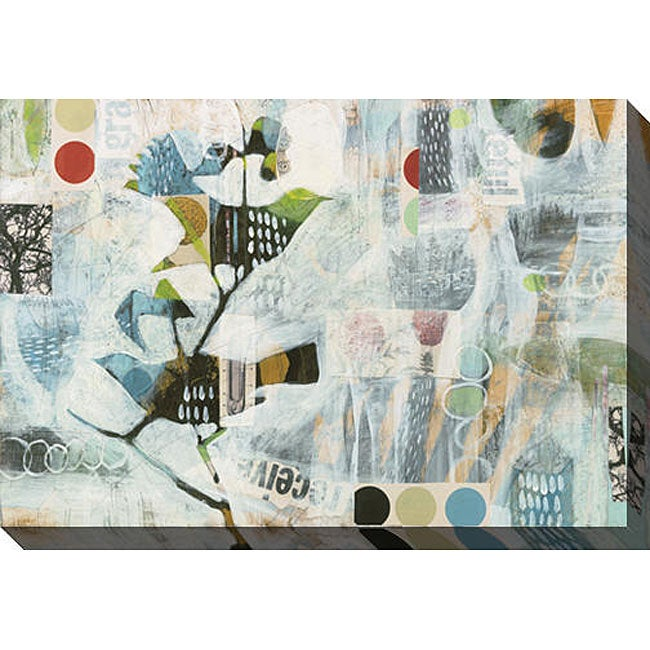 Judy Paul 'Meander II' Giclee Canvas Art