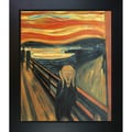 Munch 'The Scream' Canvas Art Oil Painting
