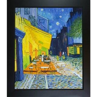 Van Gogh 'Cafe Terrace at Night' Framed Art