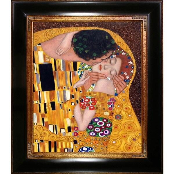 Gustav Klimt 'The Kiss' Oil Painting 5181551