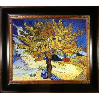 Van Gogh 'Mulberry Tree' Oil Canvas