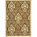 Indoor/ Outdoor St. Barts Brown/ Natural Rug (4' x 5'7)
