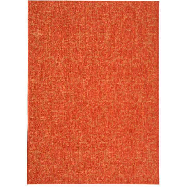 Safavieh Indoor Outdoor St Barts Red Rug 4 x 5 7