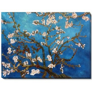 Vincent van Gogh 'Branches of Almond Tree' Canvas Art