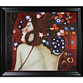 Gustav Klimt 'Sea Serpents' Canvas Art