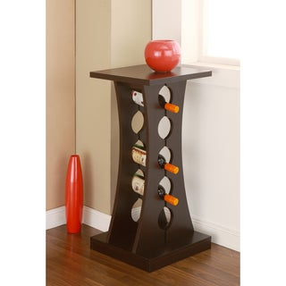 Tuscany-inspired Coffee Bean-colored Wine Rack
