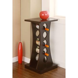Furniture of America Tuscany-inspired Coffee Bean-colored Wine Rack