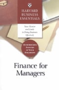 Finance for Managers (Paperback)