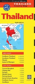 Periplus Travel Maps Thailand (Sheet map, folded)