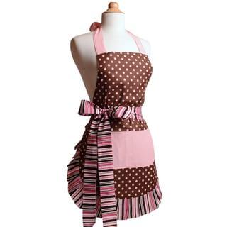 Pink Chocolate Women's Original Flirty Apron