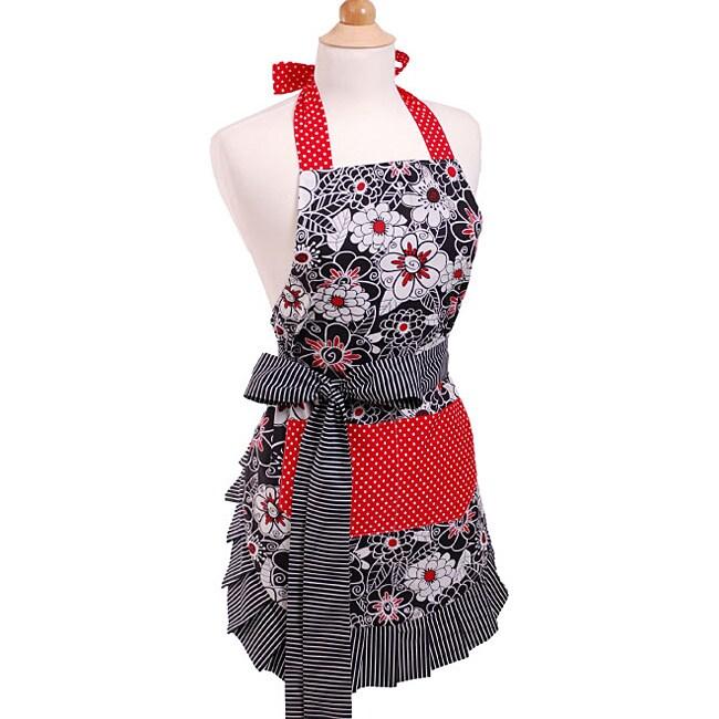 Scarlet Blossom Women's Original Flirty Apron