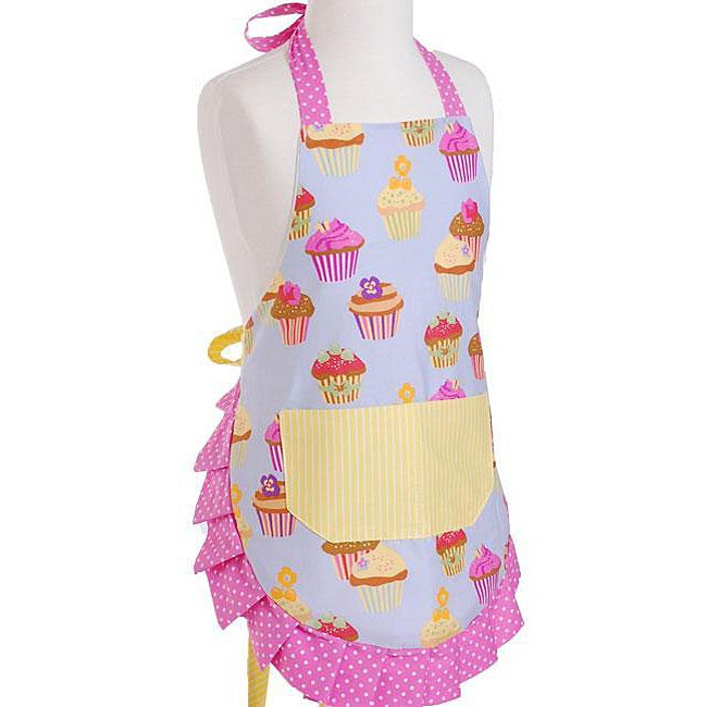 Frosted Cupcake Girl's Original Flirty Apron