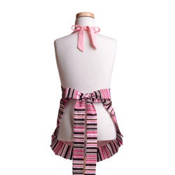 Pink Chocolate Girl's Original Flirty Apron