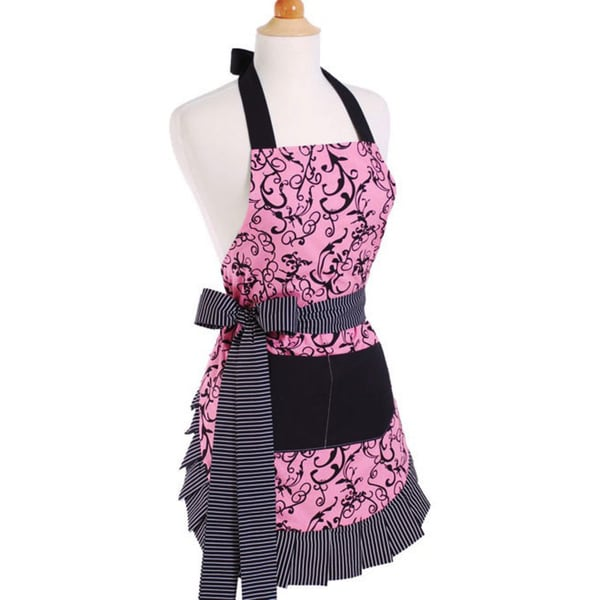 Chic Pink Women's Original Flirty Apron 5193954