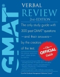 GMAT Verbal Review: The Official Guide (Paperback)