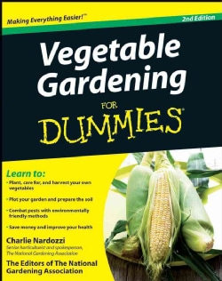 Vegetable Gardening for Dummies (Paperback)