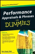 Performance Appraisals & Phrases for Dummies (Paperback)
