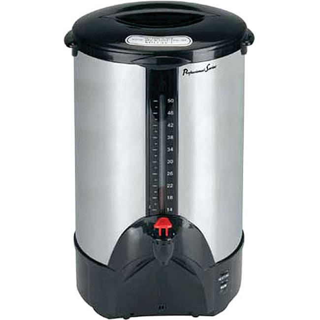 Pro Series 50-cup Stainless Steel Coffee Maker