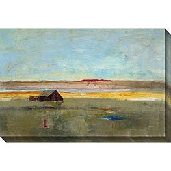 Bellows 'Old Barn I' Giclee Canvas Art