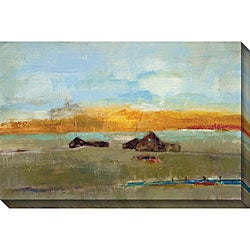Bellows 'Old Barn II' Giclee Canvas Art