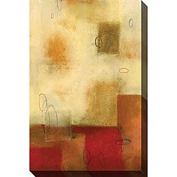 DeRosier 'Guarded I' Oversized Canvas Art