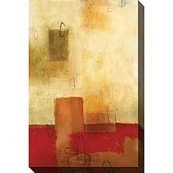 DeRosier 'Guarded II' Oversized Canvas Art
