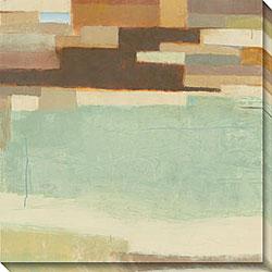 Sean Jacobs 'Verdant Mesa II' Oversized Canvas Art