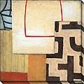 Sean Jacobs 'Ancient Modern IV' Oversized Canvas Art