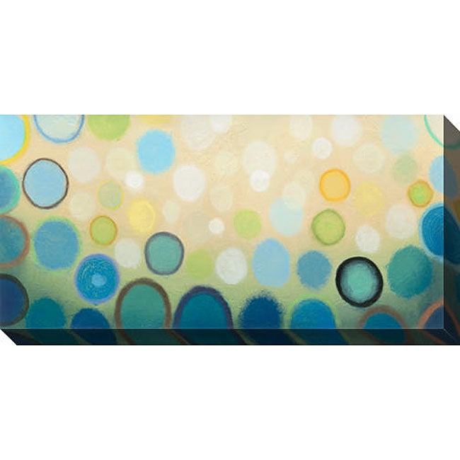 Sean Jacobs 'Sea Mist II' Oversized Canvas Art