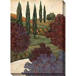 Jensen 'Tuscan View II' Oversized Canvas Art