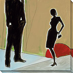 Joel Ganucheau 'Inviting' Canvas Art
