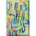 Jasper 'Giraffe' Giclee Canvas Art