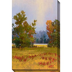 Gallery Direct Kim Coulter 'Red Trees I' Giclee Canvas Art