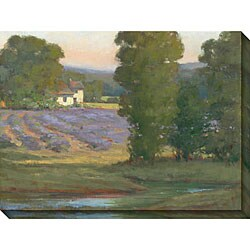 Kim Couler 'Country Home' Oversized Canvas Art