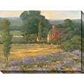 Kim Coulter 'Summer Day ' Oversized Canvas Art