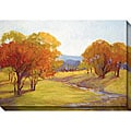 Kim Coulter 'Autumn Day I' Oversized Canvas Art
