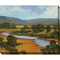 Kim Coulter 'River Overlook II' Oversized Canvas Art