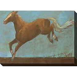 Kim Coulter 'Midnight Run II' Oversized Canvas Art