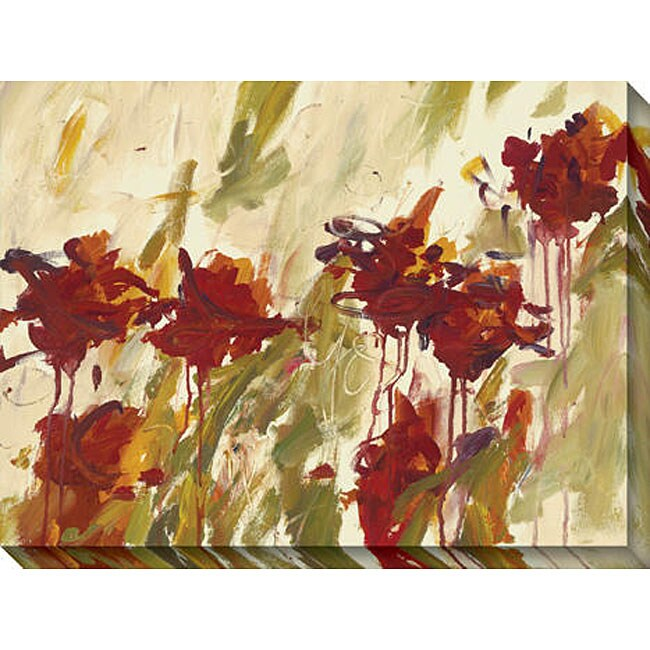 Karen Silve 'Aura III' Oversized Canvas Art